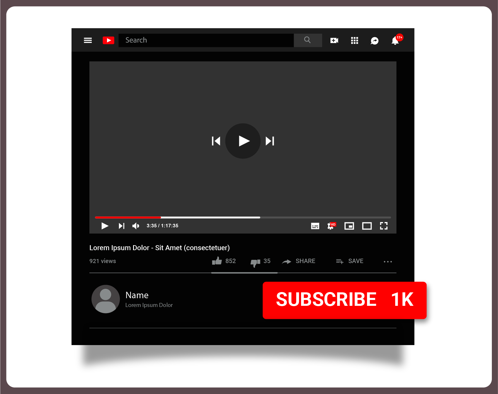 Image showing 1K subscribers